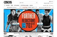 Asos Website Screenshot